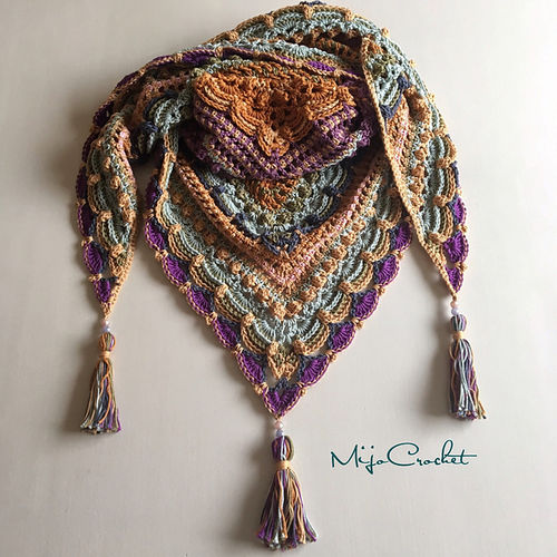 Kit Lost in Time Shawl