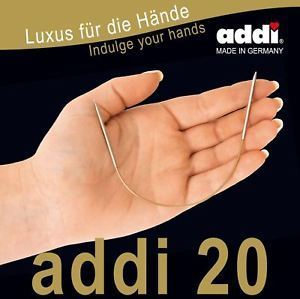 Addi fixed circular needle cm 20