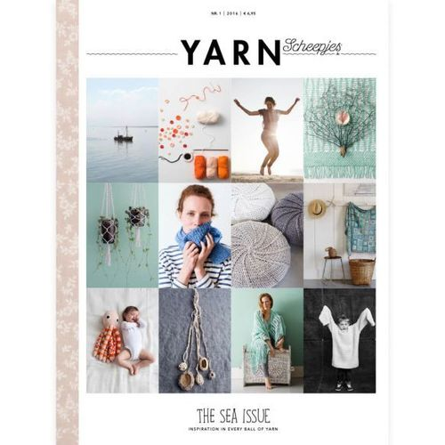 YARN Scheepjes vol.1 The Sea Issue