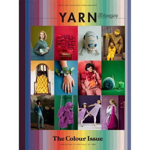 YARN Scheepjes, Issue 10 The Colour Issue