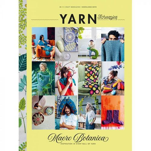 YARN Scheepjes vol.11 Macro Botanica UK
